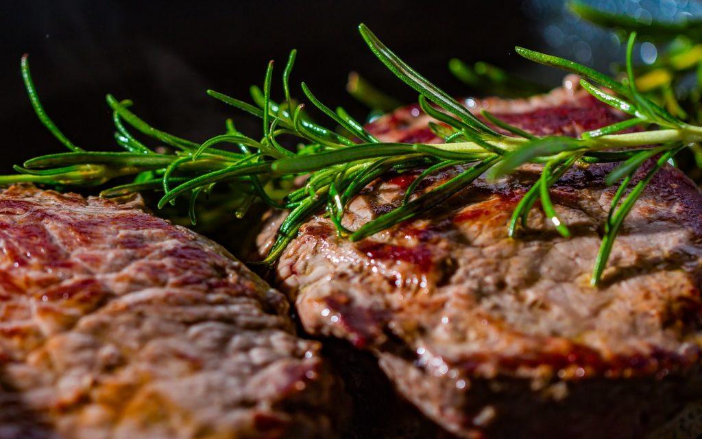steak, meat, schnitzel
