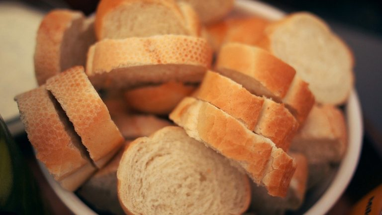 bread, french, food